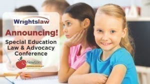 Wrightslaw Special Education Law & Advocacy Conference Registration